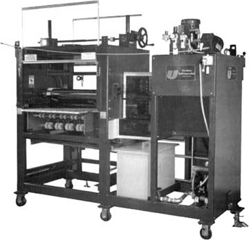 1- or 2-sided adhesive roller coater machines.