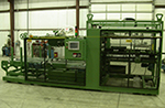 AUTOMATIC PRESS BLANK FEEDER / COATER / FEEDER FOR LARGER STEEL BLANKS