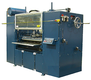 Duel head hot melt roller coater machines.