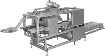 Press blank feeder coater.