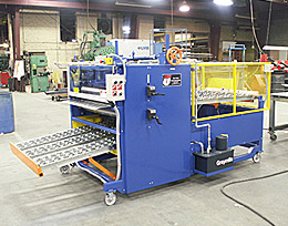 Roller Coater with Return Feed Conveyor - Infeed Position