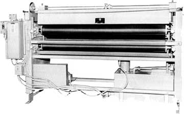 Roller coater machines.
