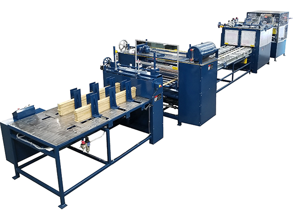 Engineered flooring system, wood laminating machines.
