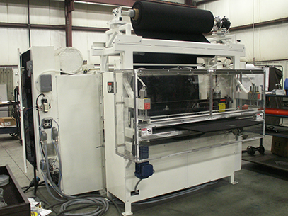 Hot melt roller coater/laminator