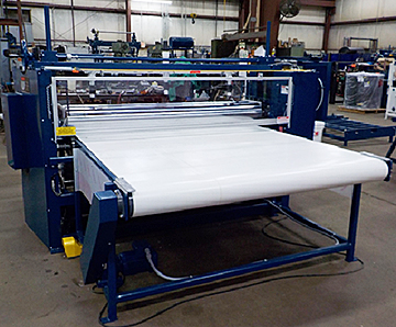 "For larger product width applications, our Series #45 Roller Coaters from Union Tool are manufactured from widths up to 98"" wide."